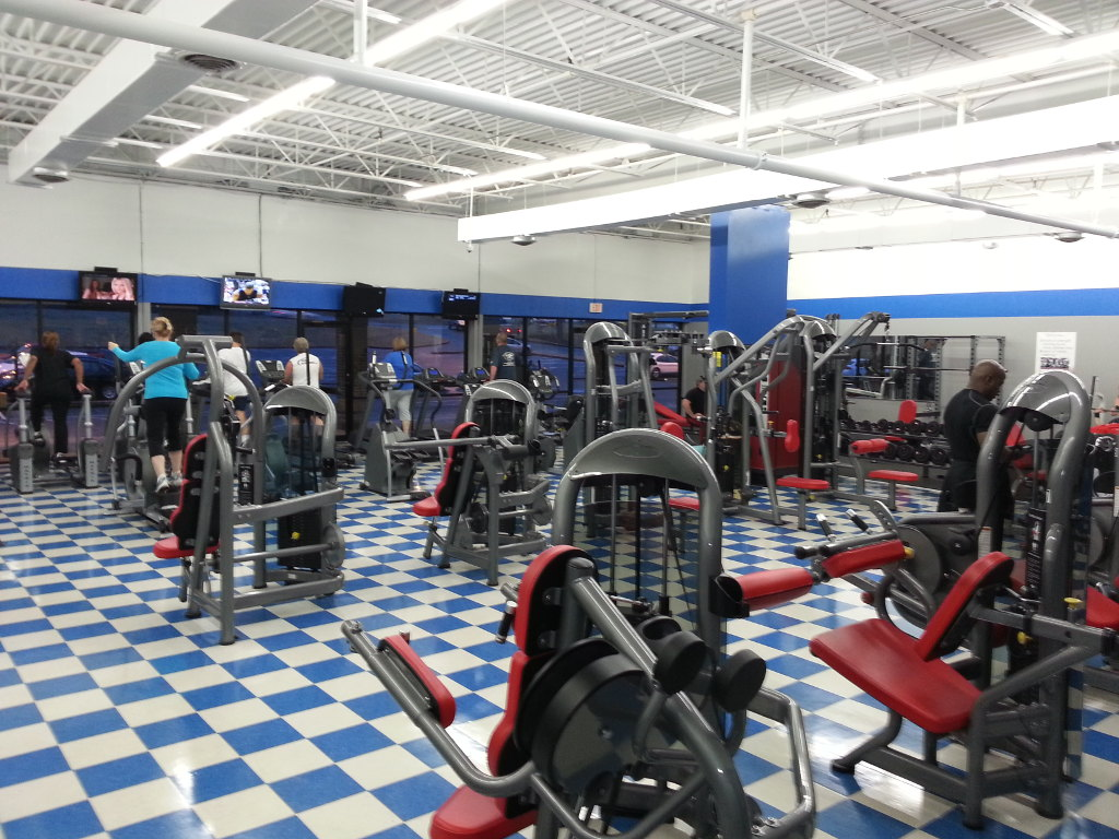 Strength Training Equipment Area